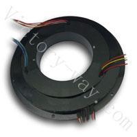 110mm inner hole,16 channels PanCake Slip Rings(VSR-P110-16) Manufactures