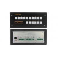 China 16 Buttons Programmable Central Controller Ethernet Control Flush Mount Unit on sale