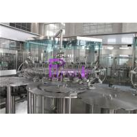 Fruit Juice Hot Filling Machine 3 In 1 Monoblock Washing Filling Capping Machine Manufactures
