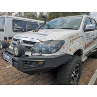Off-road bull bar Accessories Steel Front Bumpers heavy duty with winch bracket for Hilux Vigo Manufactures