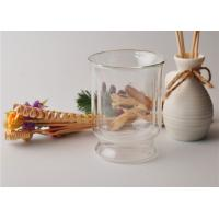 China Tea Double Wall Borosilicate Glass , Double Layer Glass Cup Refillable on sale