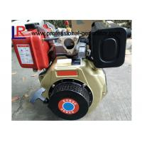China Customized 7HP Single Cylinder Industrial Diesel Engines with Direct Injection , Manual / Electric Start on sale