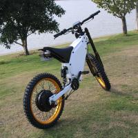 Full Suspension Powerful Ebike 72V 3000W With 45mm Magnet Hub Motor Manufactures