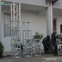 China 350x350mm aluminum bolt truss with event tent trusses on sale