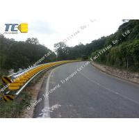 China Anti Impact Rolling Guardrail Barrier Parking Lots / Curved Median Strip on sale