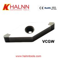 Quality PCBN Cutting Tools or CNC Turning insert for Finish turning the inner and outer rings for sale