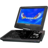 9 inch portable dvd player low price with multi-functions black color Manufactures