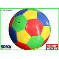 Quality Official Weight And Size Colored Football Soccer Ball Machine Stitched for sale