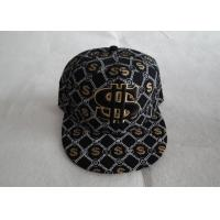 China Cool Caps Strap Back Caps With Flat Brim For Boys, Personalized Embroidery Snapback Cap For Promotion on sale