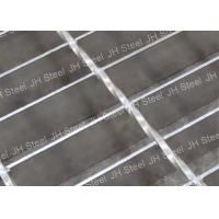 China Workshop Serrated Galvanized Steel Grating , Outdoor Steel Grate Panels on sale