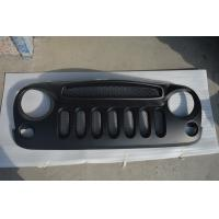 Jeep Jk Wrangler Specter Mask With Mesh Grille Material: ABS Plastic Manufactures