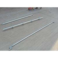 Support  2.42 M Galvanized Steel Scaffolding Easy Erect / Dismantle For Building Construction Manufactures