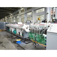 PVC Pipe Plastic Extruder Machine , Soft Pipe Making Machine / Production Line Manufactures