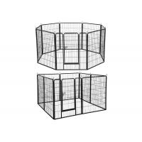 Modular Outdoor Metal Dog Kennel Heavy Duty Large Exercise Pet Playpen Manufactures