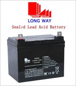 12volt Car, Bus, UPS, Electric Power, Lighting, Electric Bicycle, Boat VRLA Lead Acid Battery UPS Batteries 12V35ah Manufactures