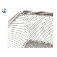 Quality Mini Metal Stainless Steel Wire Mesh French Fries Fry Holder Basket For Potato for sale