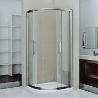 Tempered Bathroom Sliding Glass Shower Doors And Enclosures For Stand Up Shower Manufactures
