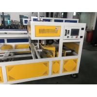 Water Cooling Type Plastic Pipe Belling Machine , Automatic Belling Machine Manufactures