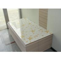 High Glossy 4 x 8 MDF Board White Melamine Board 18mm For Kitchen Cabinet Door Manufactures