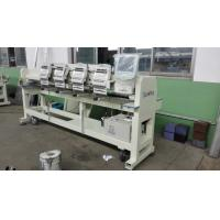 Computerized 4 Head Embroidery Machine , Hat Embroidery Machine Max Speed 850 RPM Manufactures
