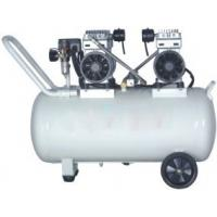 110v / 220v Small Silent Oilless Air Compressor 65L For 4 Dental Chairs Manufactures