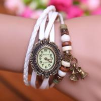2015 New Fashion 7 Colors Leather Strap Casual Vintage Watch women dress watches women watch leather vintage watch Manufactures