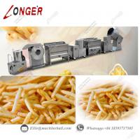 Buy cheap Semi-automatic French Fries Production Line|Potato Chips Making Machine|French Fries Making Machine|Fries Making Line from wholesalers