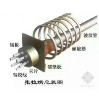 ASTM A416 Pc Strand / Steel Buildings PC Steel Wire With 1860 MPA Tensile Strength Manufactures