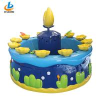 Bright Color Fishing Game Machine Cute shape Amusement Fishing Pond Manufactures