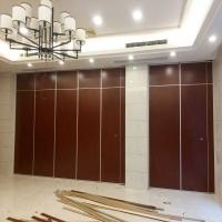 China Accordion Folding Door Partition Acoustic Movable Partition Walls For Restaurant Hotel on sale