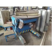 5T Horizontal Rotary Welding Positioner Turntables Speed Adjust By Inverter Manufactures