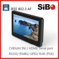 SIBO Wall Mounted Tablet PC with Power over Ethernet