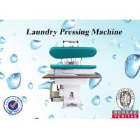 Commercial Linen Laundry Steam Press Machine For Ironing Pressing Cloth Manufactures