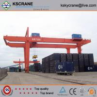 China Rubber Tyre Gantry Crane & Container Gantry Crane&Mobile Gantry Crane on sale