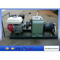 China High Versatility 3T Cable Gas Powered Winch With Honda GX160 Gasoline Engine on sale