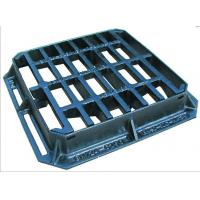 3-Sided flange Hinged ductile iron mesh gully grating and frame 450 x 450mm For Sale
