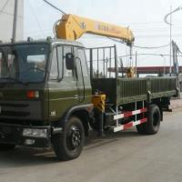 China XCMG SQ5SK3Q Mobile 5 Ton Truck Mounted Crane Max. Lifting Height 12.5m on sale