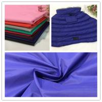 Wear Resistance Soft Nylon Fabric , 380T Breathable PU Coated Nylon Fabric Manufactures