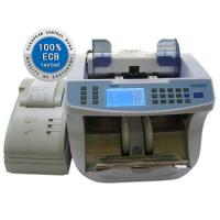 English Pound Multi Currencies Banknote Counter Value / Note Counting Machines Manufactures