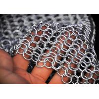 Chainmail Architectural Metal Mesh Drapery For Wall Coverings , Room Dividers Manufactures
