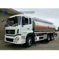 Diesel 21.2m3 Pump Chemical Tanker Truck Dong Feng 6x4 Truck ISDe245 40 Engine Manufactures