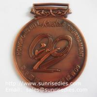 Metal Karate Tournament Medals, Personalized Alloy Karatedo Winner Prize Medals Manufactures