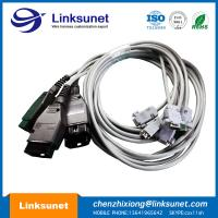 D - Sub DB9 Female To OBD - II Male Wire Harness Assembly 1.8M / 3M / 5M PUR Manufactures