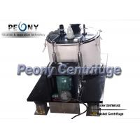 Food Grade SS Basket Centrifuge for Cannabis and Ethanol Separation Manufactures