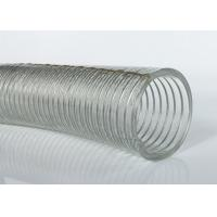 High Tensile PVC Steel Wire Hose / Pipe / Tubing Anti Static For Agriculture Manufactures