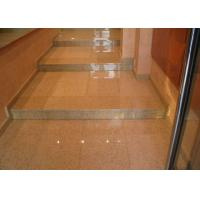 Rusty Yellow Polished Stone Entry Steps , G682 Sunset Granite Front Door Steps Manufactures