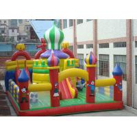 0.55mm PVC Tarpaulin Inflatable Bouncy Castle House, Inflatable Fun Park Manufactures