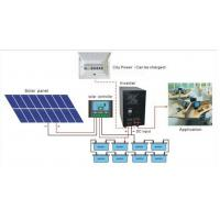 high quality 5kva solar inverter with built-in charge controller mppt Manufactures