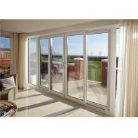 Tempered Laminated Double Glass Aluminum Frame Bifold Door Commercial Design Manufactures