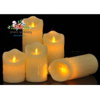 Promotional decorative Battery operated plastic LED candle light Manufactures
